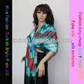 Las mujeres de moda bufanda tejida htc279-6