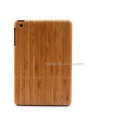 2015 Stylish real natural Wood&bamboo case for ipad mini 2 wooden case china suppliers