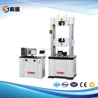 WAW-D 30 60 100 200TON Computer Electro Servo Bend Compression Tensile Tester Hydraulic Universal Tensile Testing Machine Price
