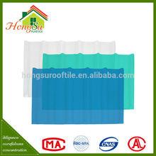 Precio a granel no conductor cubierta de techo de plástico transparente
