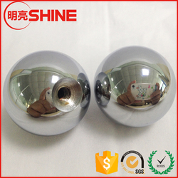 chrome or nickle plated for oilcan tapped 25mm carbon steel ball with M4 thread