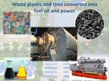 PLASTIC AND RUBBER TO FUEL OIL