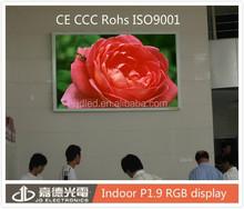 P1.9 super high resolution LED screen 1.9mm mini pitch