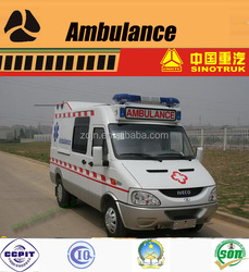 China Ambulance Manufacturer Disaster Rescue Ambulance