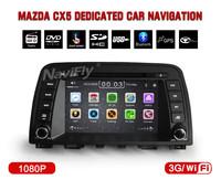 Car autoraadio For Mazda CX-5 CX5 CX 5 2013 2014 Auto Multimedia GPS 1G CPU 1080P 3G Host HD Screen Audio DVD Video Player