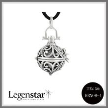 Legenstar Women Pregnant Belly Necklace Chimes Locket Pendants Pregnancy Angel Bola HB0017