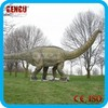 Outdoor play ground fiberglass dinosaur garden