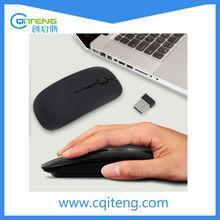 Storite by SaiTech IT - Ultra Slim Wireless Mouse 2.4 GHz With Nano Receiver (Black)