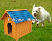 Stable wooden pet home with ventilation holes / Dog house / wooden pet house