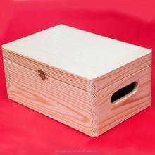 Hot Sale cheap Wooden Fruit box wooden box in christmas/shop/store/surpermarket