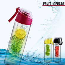 Camping/Household equipment fruit infuser bottle sports bottle health care water bottle