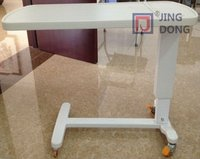 Plastic ABS Hospital Furniture Over Bed / Dining Table