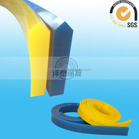 Electronic screen printing squeegee sharpener/screen squeegee printing
