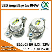 high quality e90 LCI 32w led angel eyes ,32w led angel eyes for e90 ,led marker angel eyes headlights