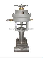 cryogenic emergency shut-off valve