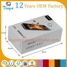 packaging design custom mobile phone cover box Trade Assurance
