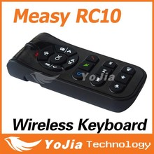 Original Measy RC10 2.4G Wireless Laser Air Mouse Remote Control Wireless Keyboard For Android TV Box Desktop Laptop Mini PC