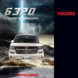 YOGOMO-6320_ HIGH QUALITY 7 SEATS MPV GASOLINE passenger car MADE IN CHINA 2015