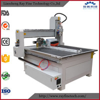 Chinese small-size 4 axis sculpture carving engraver machine CNC router wood for sale