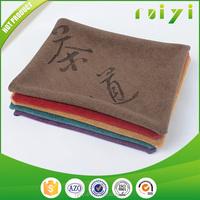wholesale custom made promotional cheap microfiber tea towel