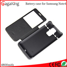 Alkaline battery USB rechargeable battery 4800MAH For samsung note 4 wholesale power bank 3.7v battery small