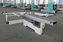 wood cutting saw/precision sliding table panel woodworking saw with 0-45 degree or 90 degree angle