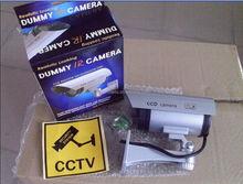 Security CCTV false Outdoor CCD camera Fake Dummy Security Camera waterproof IR Wireless Blinking Flashing