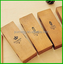 Decorative Solid Wood Cool Pencil Box for Kids