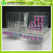 DDN-0040 ISO9001 Chinese Manufacture Sells SGS Non-toxic Clear Acrylic Facial Scrub Display