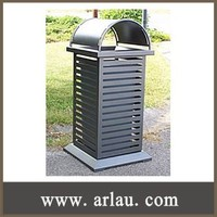 (BS-041) Outdoor Park Galvanized Steel Public Ash Bin