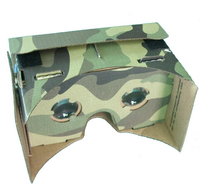 Hot Camouflage DIY Cardboard Virtual Reality VR 3D Glasses with NFC Tag