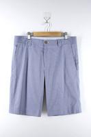 Mens 100% Cotton Oxford Suit Shorts