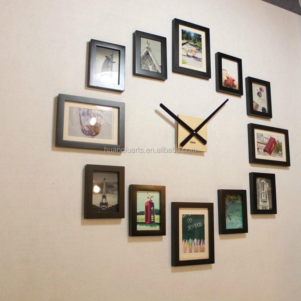 homeloo modern 12 wood wooden photo picture frame diy kit