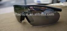Auténtico táctico guarder c6 gafas de tiro con 4 juegos de lentes, gafas militares