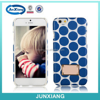 Ultra slim wallet plastic case front cover for iphone 6
