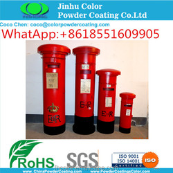electrostatic spray RAL3020 Red Polyester Powder Paint Powder for Exterior Use