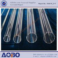 quartz diffusion tubes/clear quartz glass tube pipe