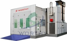 Luxury Type W-8800B water-based paint Spray Booth