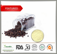 GMP Factory Supply Black Pepper Extract Piperine Powder in Bulk