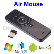 G61A With Gyroscope+Gravity Sensor 2.4GHz Wireless 6 Axis Air Mouse