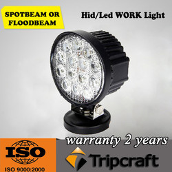 4x4 accessories 42W Led work light headlight driving light for car and motorcycle
