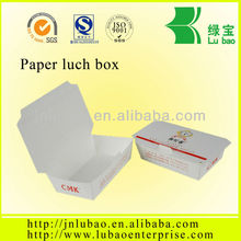 big sale Paper Lunch box with the SGS authentication