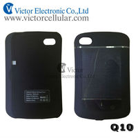 Hot sale 3000mAh portable back up battery case for BlackBerry Q10, BBQ10