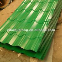 coloured galvanized steel roofing sheet for building material
