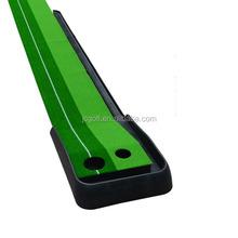 High quality Ball Return Pratice Putter indoor golf green Putting Mat