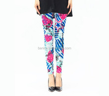 Fashion tight seamless printed colorful printed women sexy summer new design fashion one size fits all leggings