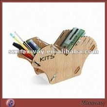 Elegant Y-shaped Combined Acrylic/Plexiglass Pen/Pencil/Lead Pencil Holder/Stand/Business Card Stationery Suppliesand