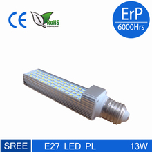 11w g24 led pl light replacing 26w cfl high power plc 2 pin 4 pin led g24 lamp