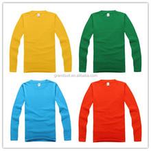 Summer and winter fashion men printing long sleeve top casual tee shirt