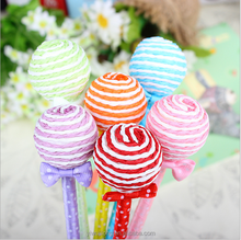 promotion ball pen gift for children/ Lollypop cartoon Shape Pen